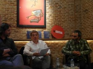 Rafael Saravia, Juan Carlos Mestre y Alberto R. Torices. Cortesía de José Luís Suárez de Dios.